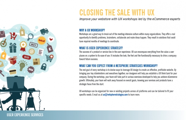 Closing the Sale with UX